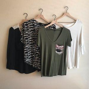 Tops bundle! - Size medium.